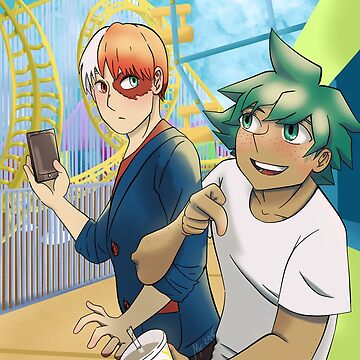 TodoDeku at the Amusement Park by morvenmoeller