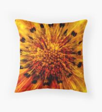 Making Flowers Throw Pillow