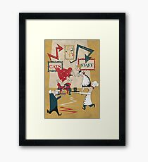 Cats Have Staff Framed Print