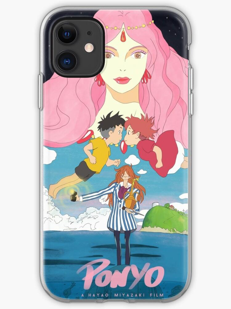 Ponyo Hayao Miyazaki Studio Ghibli iphone case
