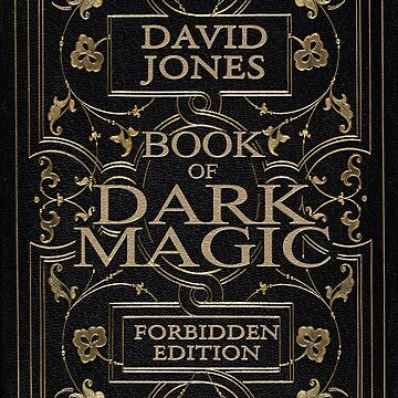 BOOK OF DARK MAGIC - PERSONALISED (see description) by ideedido