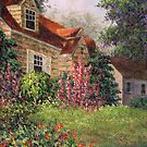 Backyard Garden by Susan Savad