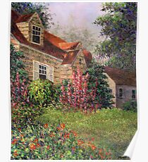 Backyard Garden Poster