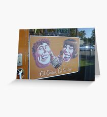 Get Ginger Greeting Card