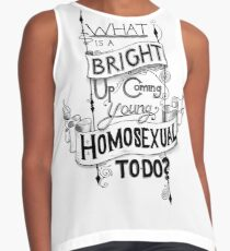Up-and-Coming Young Homosexual  Contrast Tank