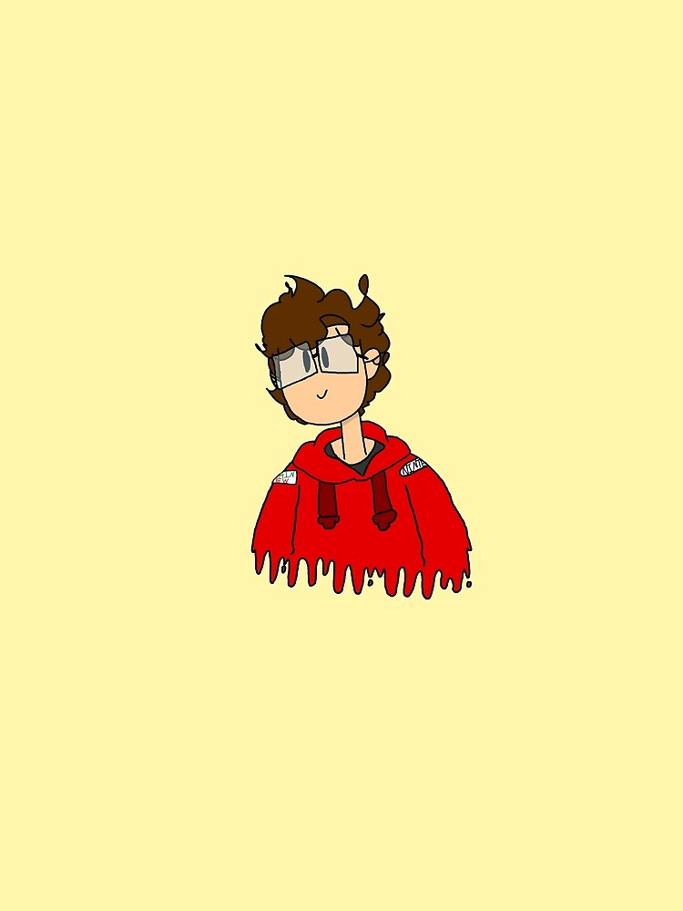 Tristanimations Red Hoodie by Tristanimations