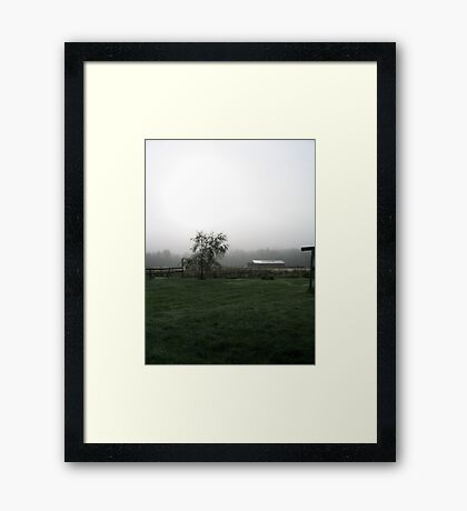 A Very Different Morning Framed Print