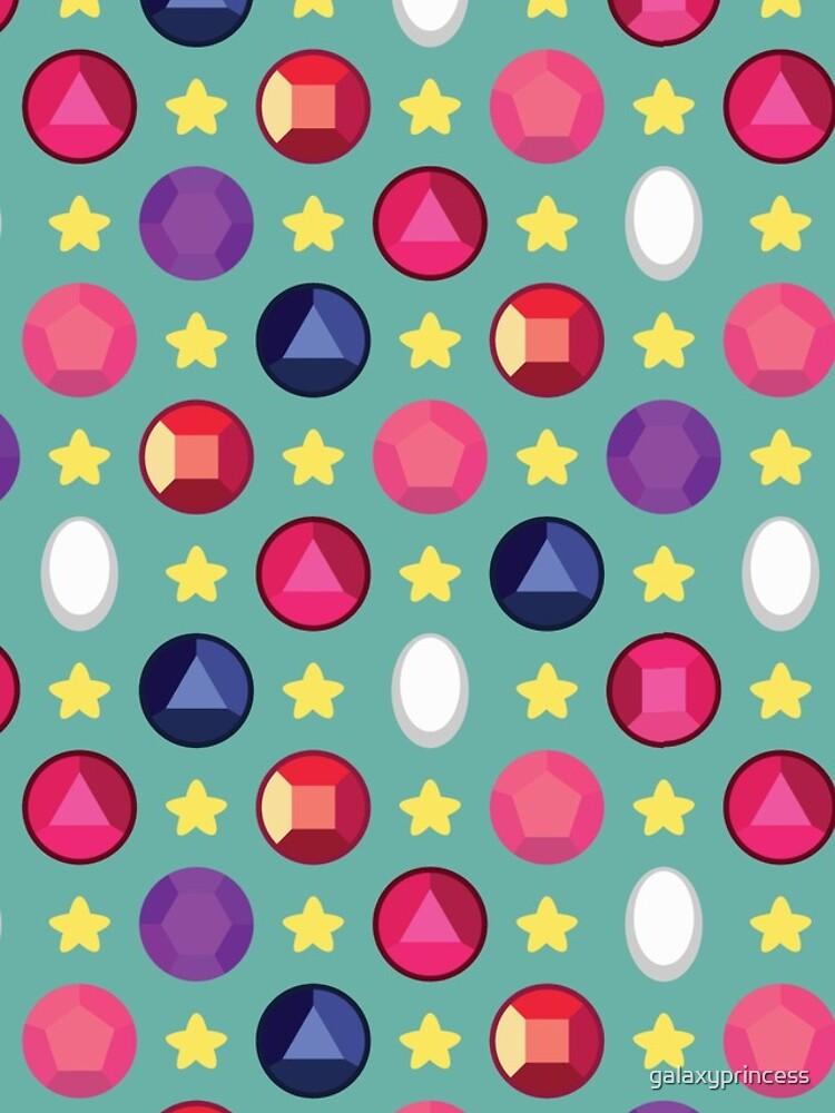Crystal Gem Pattern by galaxyprincess