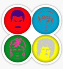 The Hot Space Sticker