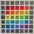 2017 Summer Mosaic by JesDesignz