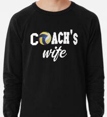 Volleyball Coach Shirt - Volleyball Coach Gifts - Volleyball Coach Wife Shirt Lightweight Sweatshirt