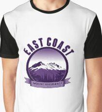 New Zealand - East Coast Graphic T-Shirt