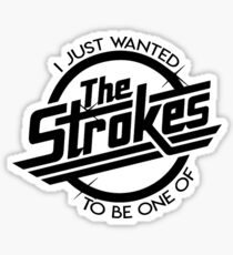 one of the strokes - arctic monkeys Sticker