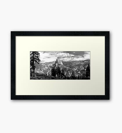 yosemite wilderness Framed Print