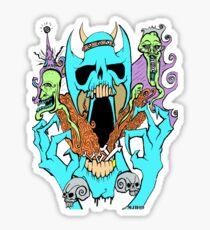DEMON OF HELL Sticker