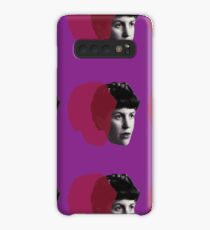 Sylvia Plath portrait Case/Skin for Samsung Galaxy