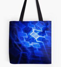 Abstract software algorithm flowchart art photo print Tote Bag