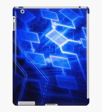 Abstract software algorithm flowchart art photo print iPad Case/Skin