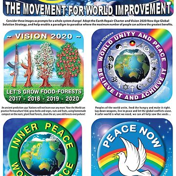 One World Peace Poster by EarthRepair