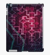 Abstract Algorithm Flowchart Background art photo print iPad Case/Skin