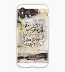 Our souls touched for such a short amount of time iPhone Case
