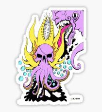 SKULQUID Sticker