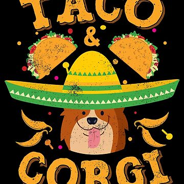 Corgi Cinco de Mayo Dog by TheLariat