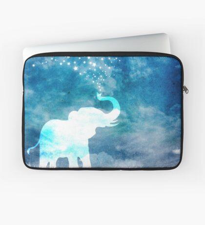 Magical Elephant Spouting Stars Laptop Sleeve