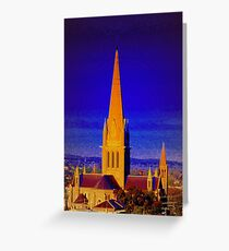 Bendigo Cathedral Greeting Card