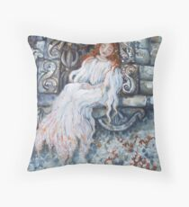 Sleeping Girl Throw Pillow