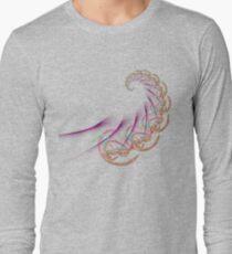asian fractal spiral Long Sleeve T-Shirt