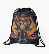 Take This - Print Drawstring Bag