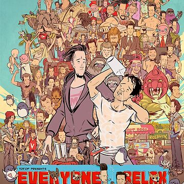 TOFOP - Everyone Relax Poster by MrFoz