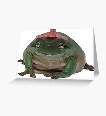 Geburtstagsfrosch (Ongo) Grußkarte