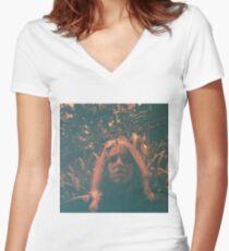 Umsatz - Periphere Vision Shirt mit V-Ausschnitt