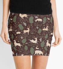 Minifalda El funcionamiento del ciervo - Marrón