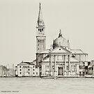 Isola San Giorgio Maggiore, Venice by Dai Wynn