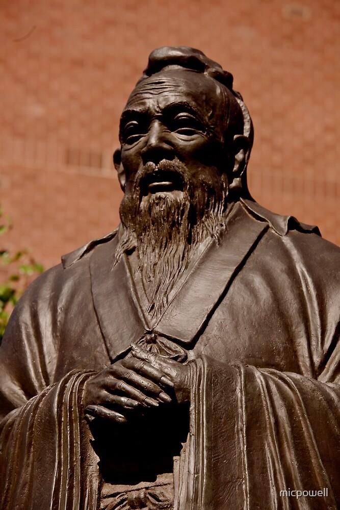 Confucius, Manhattan's Chinatown by micpowell