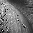 Footprints In The Sand by Eve Parry