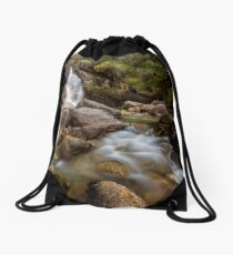 A Valiant Lady Drawstring Bag