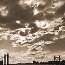 Chelsea Bridge, London by Astrid Authier