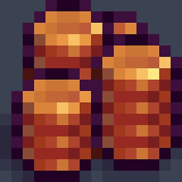 Pixel Copper Coins F by BenHenry