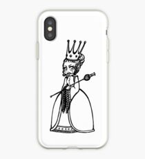 Chibi-Queen, Herzköngin, Alice iPhone Case
