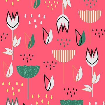 Flowers and raindrops by cocodes