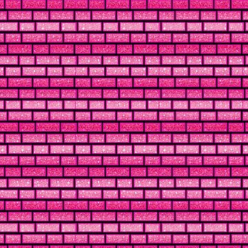 Pretty Pink Bricks Girly by creative321