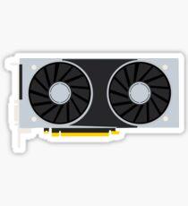 Geforce RTX Minimal Fanart Sticker