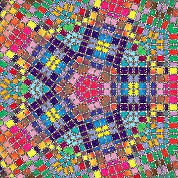Gemstones and Metal Pentagon Pattern by MarkUK97