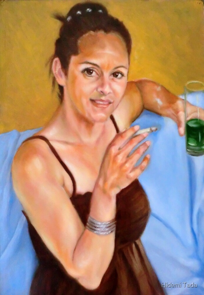 portrait of Emilia Popova by Hidemi Tada
