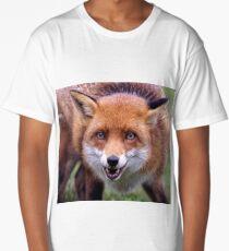 Red Fox Long T-Shirt