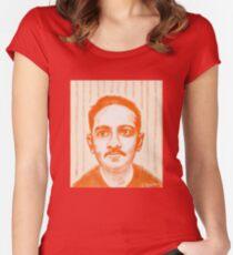 Jibananda Das Women's Fitted Scoop T-Shirt